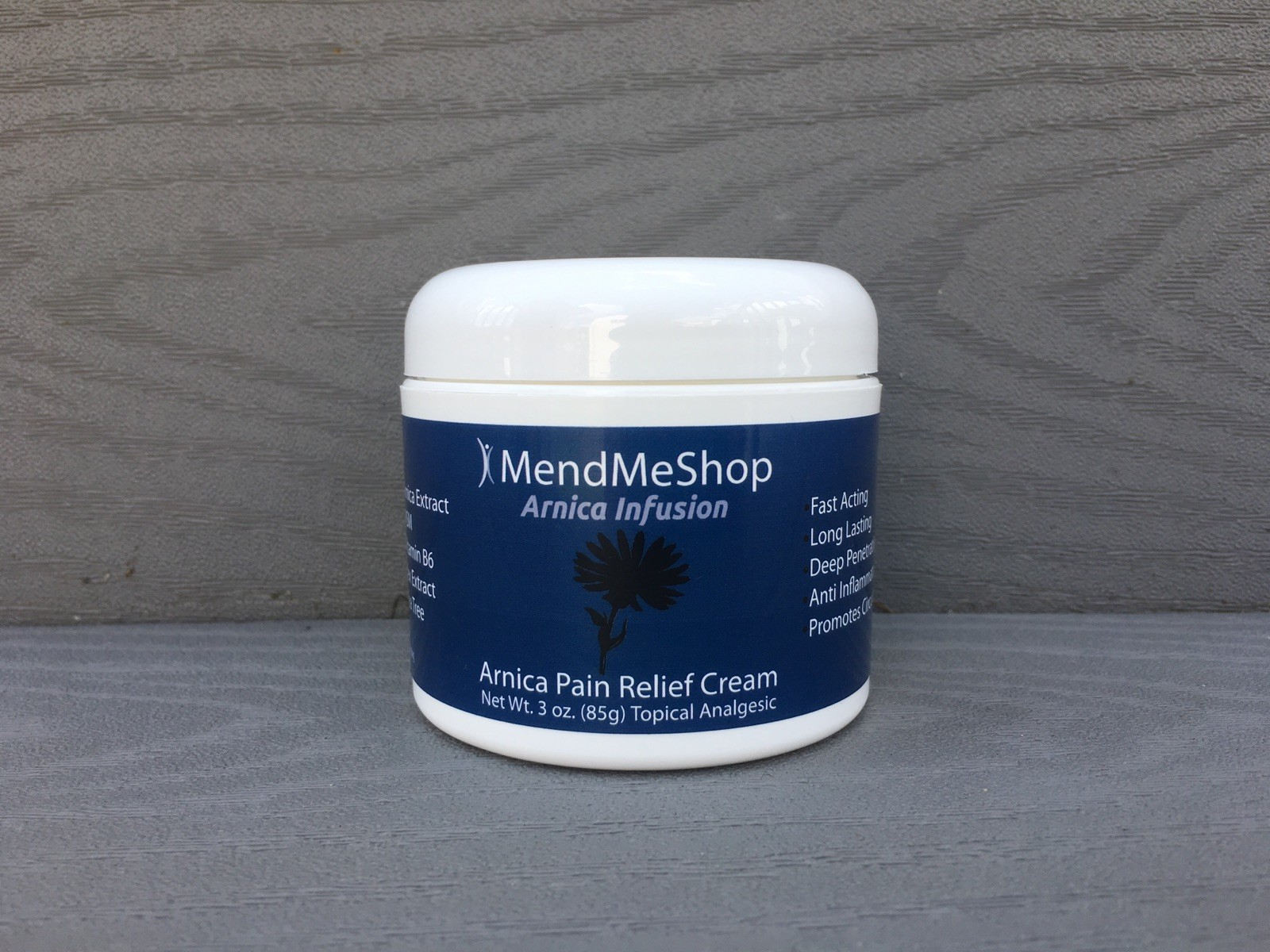 Arnica Infusion - NEW Topical Pain Relief Gel from MendMeShop