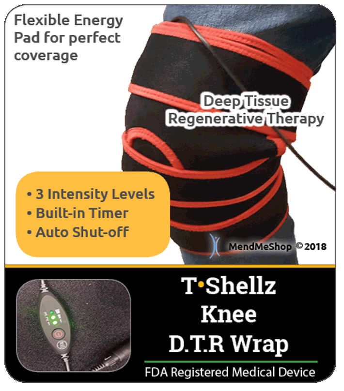 Knee T-Shellz Wrap Review - Relieves the Pain