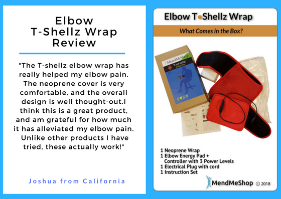 Elbow T-Shellz Wrap Review - Great Design and Great Results