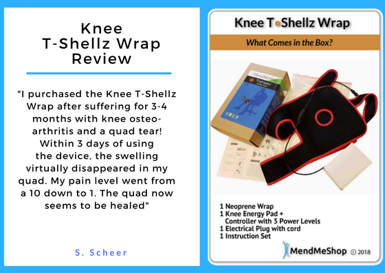 Knee T Shellz Wrap - a New Testimonial
