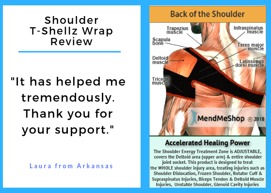 This Shoulder T Shellz Wrap Really Helps!