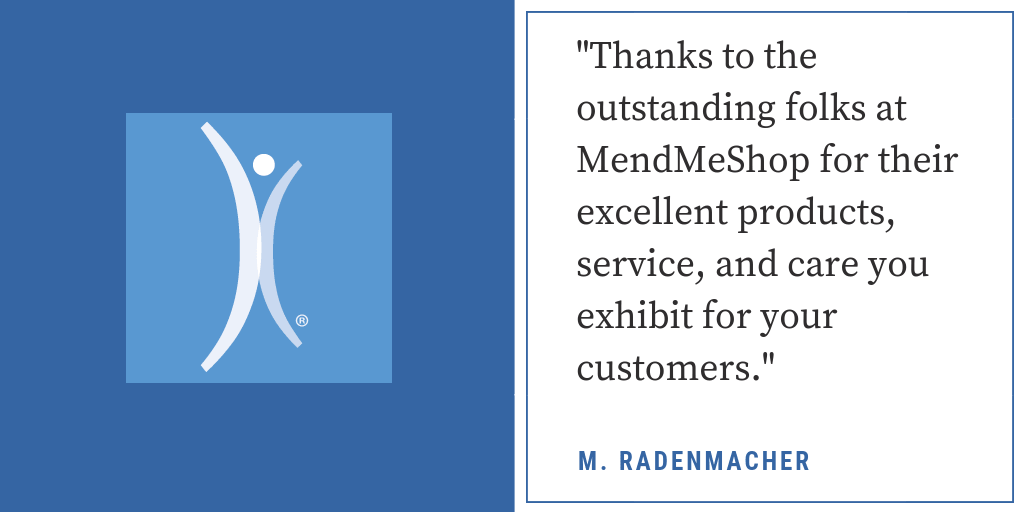 MendMeShop Is Outstanding!
