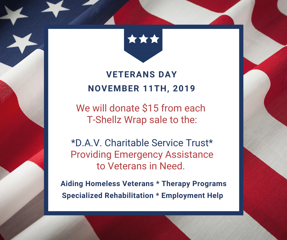 Veterans Day Fundraiser by MendMeShop
