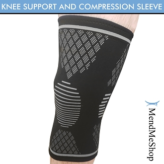 MendMeShop's Knee Support and Compression Sleeve - Small
