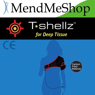 (LARGE) Shoulder T-Shellz Wrap - Use on Either The Left or Right Shoulder!