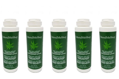 5 Pack - MendMeShop Ultrasound Lotion - Aloe Infused