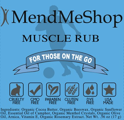 MendMeShop On-The-Go Muscle Rub - 2 Pack Special